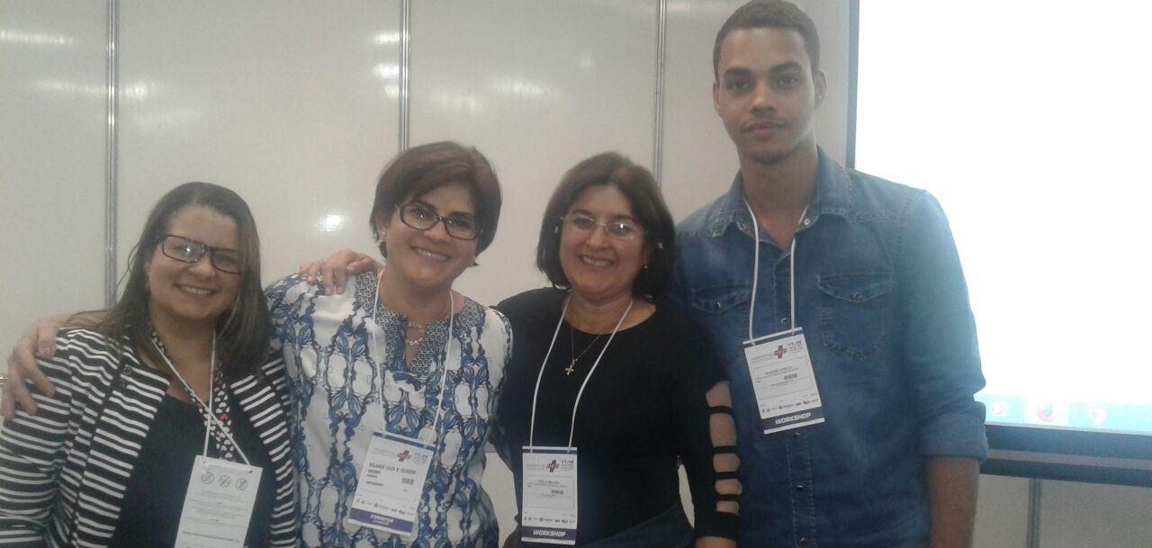 O jurídico da Santa Casa participou do workshop sobre direito coletivo, dano moral e terceirização, ministrado pela advogada do Sindhospe, Solange Oliveira.